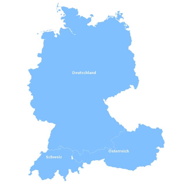 DACH Karte 2